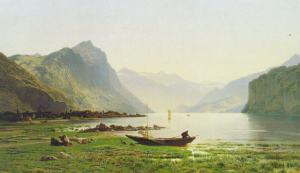 Le Lac Wallenstadt - Roffiaen 1865