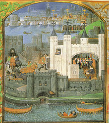 Charles' imprisonment in the Tower of London