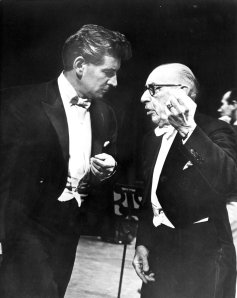 Bernstein and Stravinsky