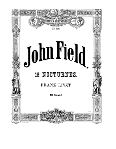 John field, edited by Liszt