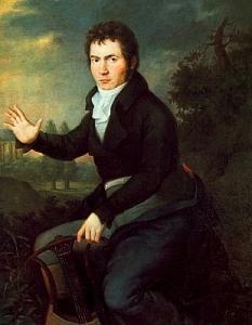 Beethoven -1804 -Joseph Mähler