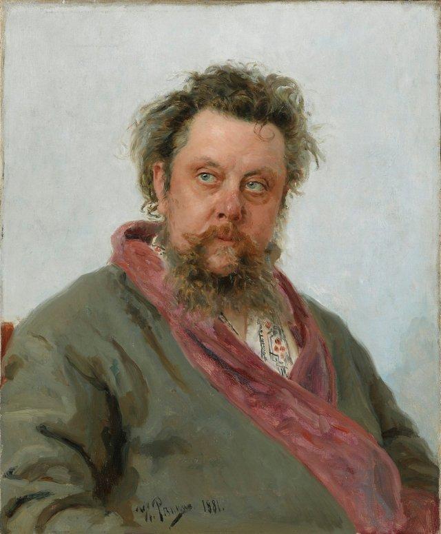 Mussorgsky - by Ilya Repin